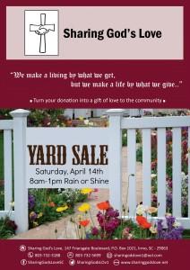 SGL-yard sale Spring