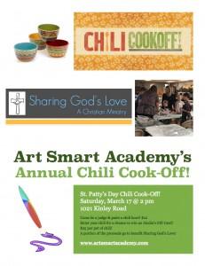 Art Smart Chili Cook off