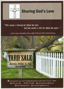Fall Yard Sale facebook graphic '18