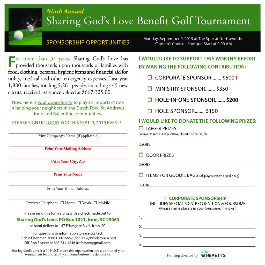 Events | Sharing God's Love